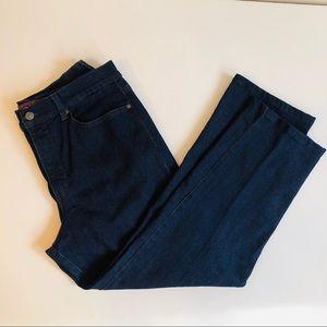 Gloria Vanderbilt Amanda Dark Wash Jeans